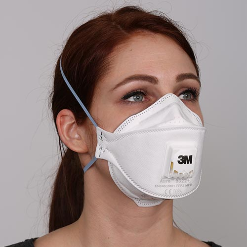 Protection from breathing ash
